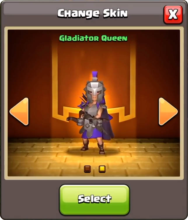 Gladiator Queen dans Clash of Clans