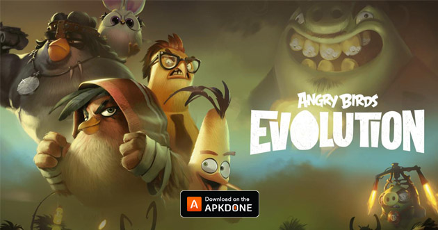 Affiche Angry Birds Evolution