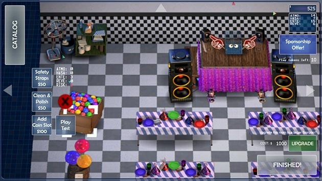 FNaF 6: Pizzeria Simulator capture d'écran 1
