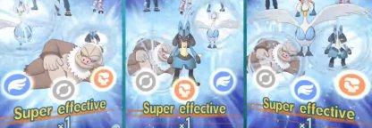 Combine les 3 éléments Pokemon