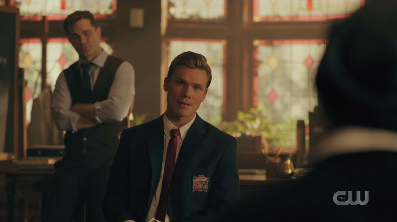 Bret Weston Wallis - Sean Depner - Se Chipping - Sam Witwer - Riverdale Saison 4