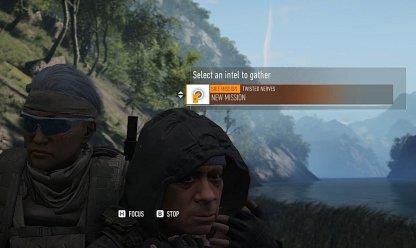 Soldat interrogé pour obtenir une mission