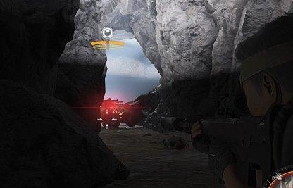 La fin de la grotte aura de gros drones
