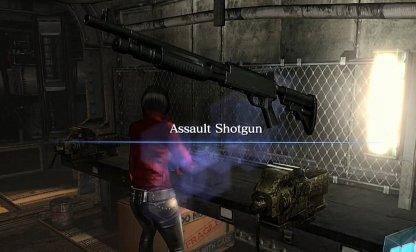 Fusil d'assaut se trouve dans cette zone