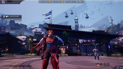 Point de départ pour la connexion à Dauntless