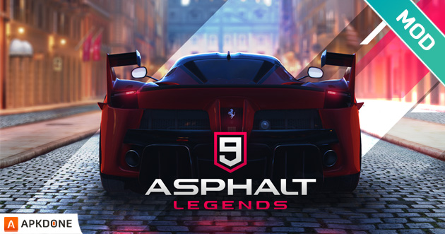 Asphalt 9: Legends MOD APK + OBB Data v1.8.1a pour Android – Télécharger