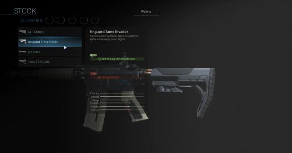 CoD: MW 2019 | Singuard Arms Invader – Statistiques de stock | Call of Duty: La guerre moderne