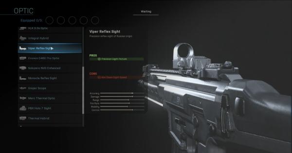 CoD: MW 2019 | Viper Reflex Sight – Statistiques optiques | Call of Duty: La guerre moderne