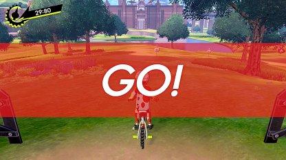 Mini-jeu de vélo dans Pokemon Sword And Shield