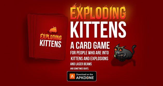 Exploding Kittens Official APK + MOD 4.0.2 [Unlocked] Télécharger pour Android