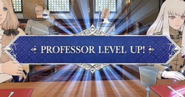 FE Three Houses | Comment augmenter le niveau de professeur | Emblème du feu