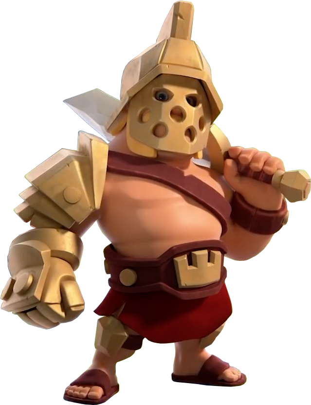 King Gladiator - Clash of Clans