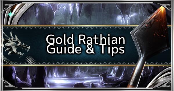MHW: ICEBORNE   Comment battre Gold Rathian – Compétences recommandées