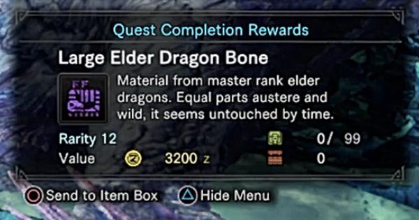 MHW: ICEBORNE | Guide de l'agriculture rapide – Grand Elder Dragon Bone
