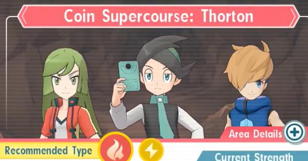 Masters Pokémon   Coin Supercourse: Thorton – Comment battre (très difficile)