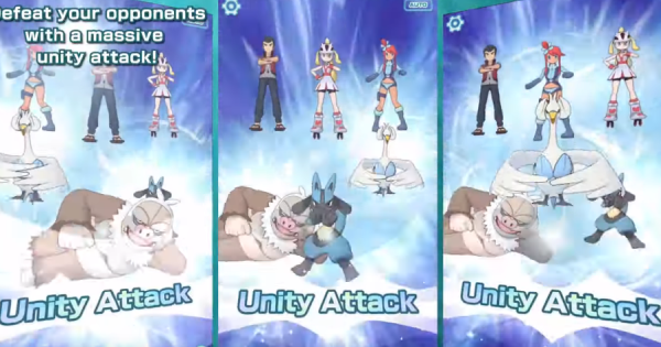 Masters Pokémon | Comment faire des attaques de l'unité