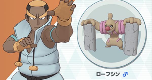 Masters Pokémon | Marshal & Conkeldurr – Sync Pair Statistiques et mouvements