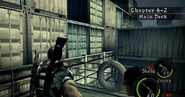 Resident Evil 5 | Chapitre 6-2 – Combat contre Uroboros Aheri Boss | RE5