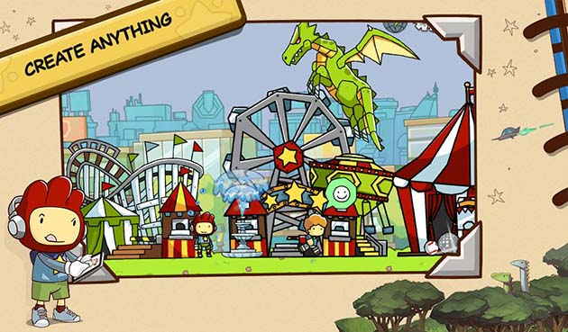 Scribblenauts Unlimited capture d'écran 1