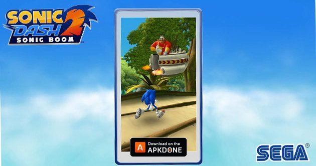 Sonic Dash 2: Sonic Boom MOD apk 1.8.1 (argent illimité) pour Android