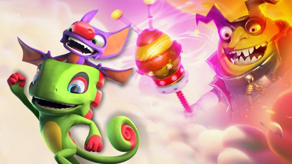 Tests de Yooka-Laylee et l'Impossible Lair