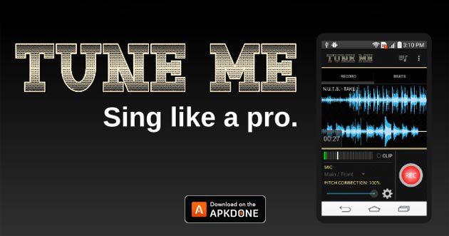 Tune Me Pro APK 2.2.0 (MOD Débloqué Beats) Télécharger gratuitement pour Android