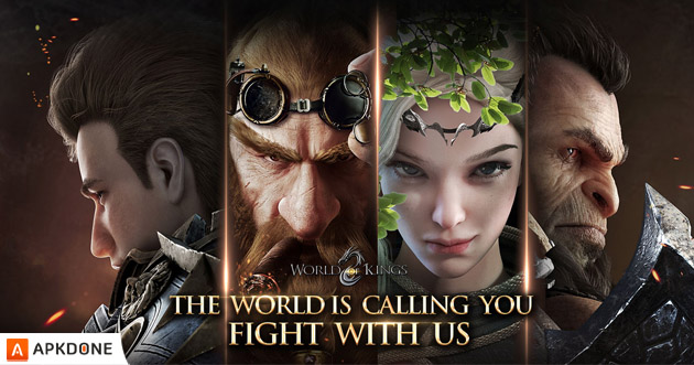 World of Kings APK + OBB Data v1.0.17 Télécharger gratuitement pour Android