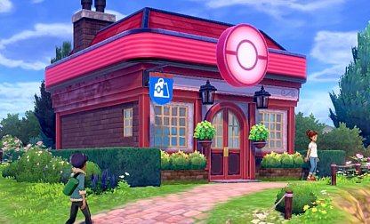 Visitez n'importe quel centre Pokemon dans la région de Galar