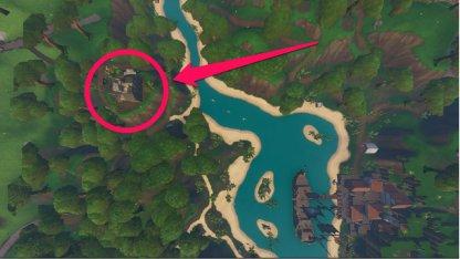 Fortnite Saison 8 Visitez tous les camps de pirates Saison 8 Semaine 5 Défi Lazy Lagoon