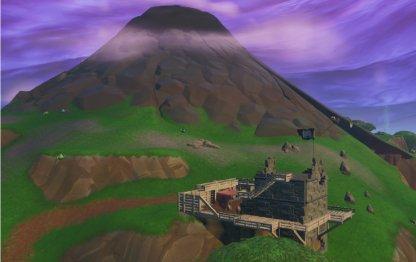 Fortnite Saison 8 Visitez tous les camps de pirates Saison 8 Semaine 5 Défi Volcan