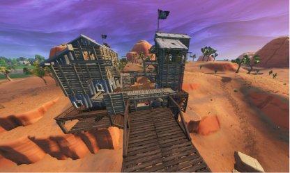 Fortnite Saison 8 Visitez tous les camps de pirates Saison 8 Semaine 5 Défi Paradise Palms
