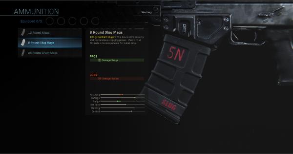 CoD: MW 2019 | 8 Round Slug Mags – Statistiques du magazine | Call of Duty: Modern Warfare
