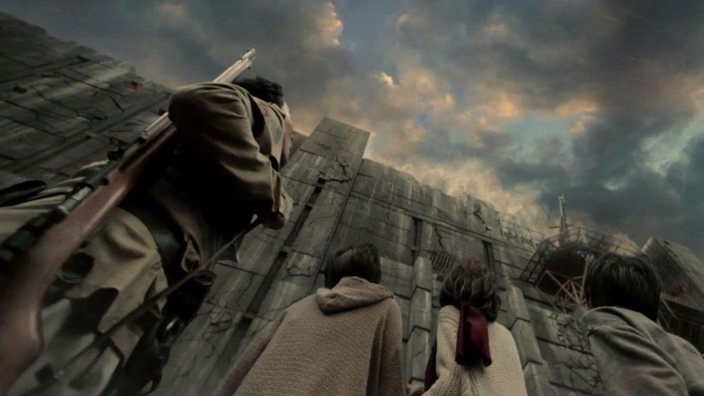 Les murs d'Attack on the Titans sont situés dans le monde réel