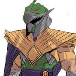 Shredder devient le Green Ranger dans le croisement avec Ninja Turtles