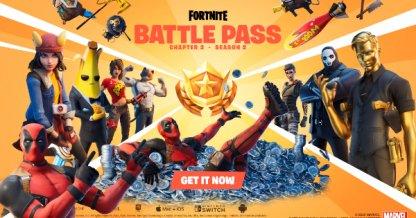 Chapitre 2 Récompenses S2 Battle Pass