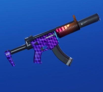 Enveloppe NEONIMAL - Pistolet mitrailleur