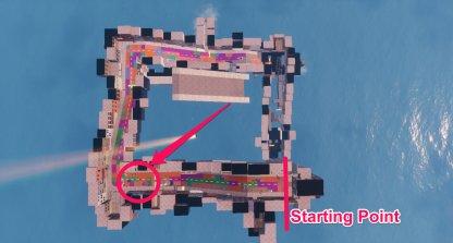 Carte de localisation de 1st Speed Trap Location
