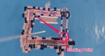 Carte de localisation du 2nd Speed Trap Location