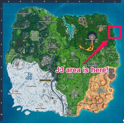 Fortbyte # 88 - Quelque part dans l'emplacement de la carte Emplacement J3