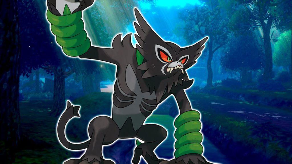 L'épée et le bouclier Pokémon s'ajoutent à Zarude, un nouveau singulier