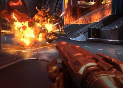 Super Shotgun & Chaingun vont d'abord détruire le traîneau