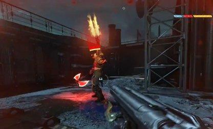 Utilise un super fusil de chasse