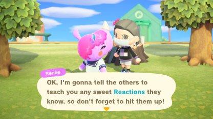 Parlez avec les villageois pour obtenir plus de réactions