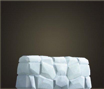 Mur de pierre rustique