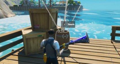 Nécessite une canne à pêche pour pêcher