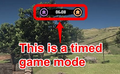 Il y a une limite de temps pour ce mode de jeu