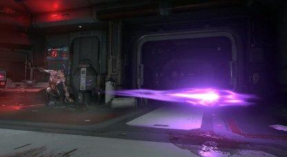 Boules d'énergie violettes
