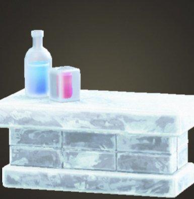 Comptoir congelé