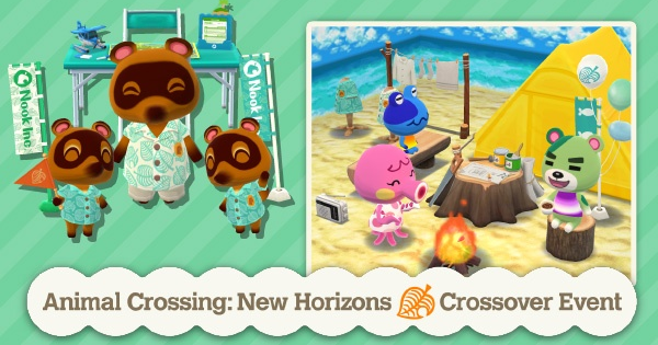 Animal Crossing New Horizons | Événement Crossover Pocket Camp – Meubles et récompenses | Interrupteur de passage d'animaux