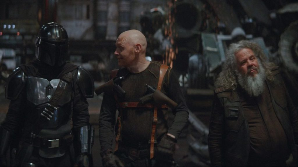 Bill Burr de retour dans The Mandalorian dans la saison 2